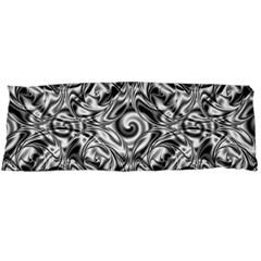 Gray Scale Pattern Tile Design Body Pillow Case Dakimakura (two Sides)