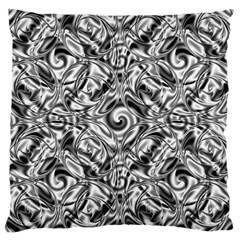 Gray Scale Pattern Tile Design Large Cushion Case (One Side)