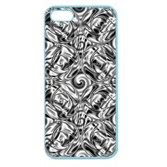Gray Scale Pattern Tile Design Apple Seamless iPhone 5 Case (Color)