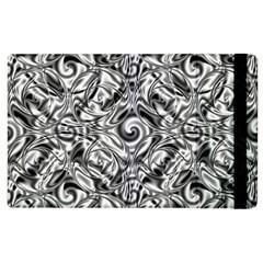 Gray Scale Pattern Tile Design Apple iPad 3/4 Flip Case