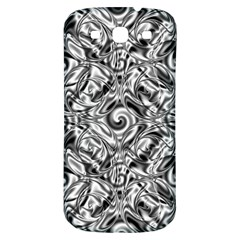 Gray Scale Pattern Tile Design Samsung Galaxy S3 S Iii Classic Hardshell Back Case