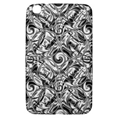 Gray Scale Pattern Tile Design Samsung Galaxy Tab 3 (8 ) T3100 Hardshell Case