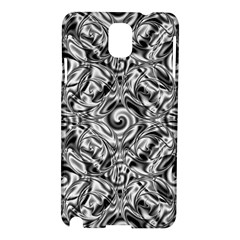 Gray Scale Pattern Tile Design Samsung Galaxy Note 3 N9005 Hardshell Case