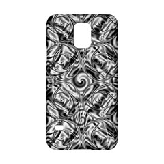 Gray Scale Pattern Tile Design Samsung Galaxy S5 Hardshell Case