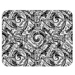 Gray Scale Pattern Tile Design Double Sided Flano Blanket (medium)