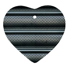 Sheet Holes Roller Shutter Ornament (heart)