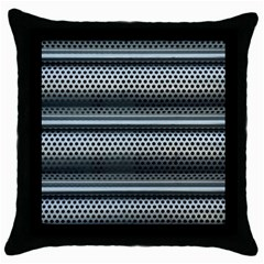 Sheet Holes Roller Shutter Throw Pillow Case (black)
