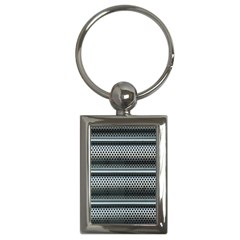 Sheet Holes Roller Shutter Key Chains (rectangle)