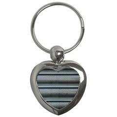 Sheet Holes Roller Shutter Key Chains (Heart)