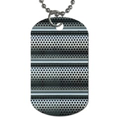 Sheet Holes Roller Shutter Dog Tag (two Sides)
