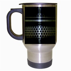 Sheet Holes Roller Shutter Travel Mug (silver Gray)