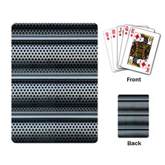 Sheet Holes Roller Shutter Playing Card