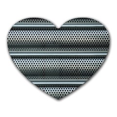 Sheet Holes Roller Shutter Heart Mousepads