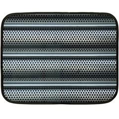 Sheet Holes Roller Shutter Fleece Blanket (Mini)