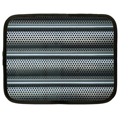 Sheet Holes Roller Shutter Netbook Case (XL)