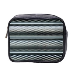 Sheet Holes Roller Shutter Mini Toiletries Bag 2 Side