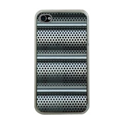 Sheet Holes Roller Shutter Apple Iphone 4 Case (clear)