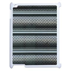 Sheet Holes Roller Shutter Apple Ipad 2 Case (white)