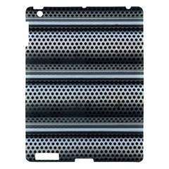Sheet Holes Roller Shutter Apple Ipad 3/4 Hardshell Case