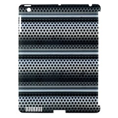 Sheet Holes Roller Shutter Apple iPad 3/4 Hardshell Case (Compatible with Smart Cover)