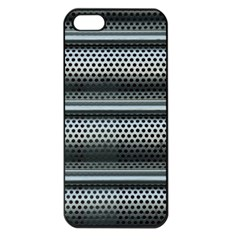Sheet Holes Roller Shutter Apple Iphone 5 Seamless Case (black)