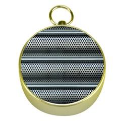 Sheet Holes Roller Shutter Gold Compasses