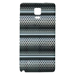 Sheet Holes Roller Shutter Galaxy Note 4 Back Case