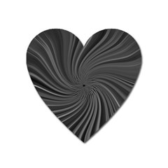 Abstract Art Color Design Lines Heart Magnet