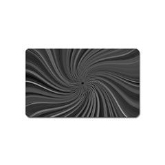 Abstract Art Color Design Lines Magnet (name Card)