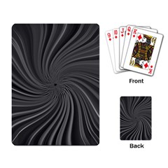 Abstract Art Color Design Lines Playing Card