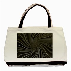 Abstract Art Color Design Lines Basic Tote Bag