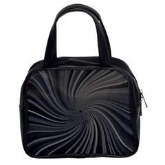 Abstract Art Color Design Lines Classic Handbags (2 Sides)