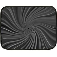Abstract Art Color Design Lines Fleece Blanket (mini)