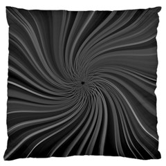 Abstract Art Color Design Lines Large Cushion Case (Two Sides)