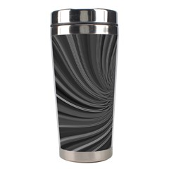 Abstract Art Color Design Lines Stainless Steel Travel Tumblers