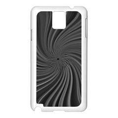 Abstract Art Color Design Lines Samsung Galaxy Note 3 N9005 Case (White)