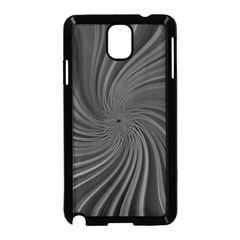 Abstract Art Color Design Lines Samsung Galaxy Note 3 Neo Hardshell Case (Black)