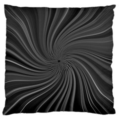 Abstract Art Color Design Lines Large Flano Cushion Case (two Sides)