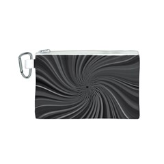 Abstract Art Color Design Lines Canvas Cosmetic Bag (s)
