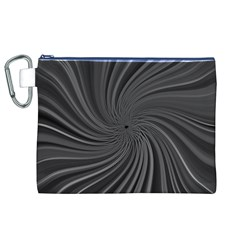 Abstract Art Color Design Lines Canvas Cosmetic Bag (xl)