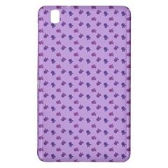 Pattern Background Violet Flowers Samsung Galaxy Tab Pro 8 4 Hardshell Case