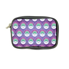 Background Floral Pattern Purple Coin Purse