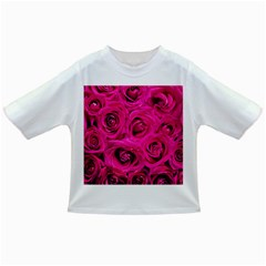 Pink Roses Roses Background Infant/toddler T Shirts