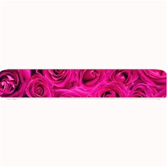 Pink Roses Roses Background Small Bar Mats