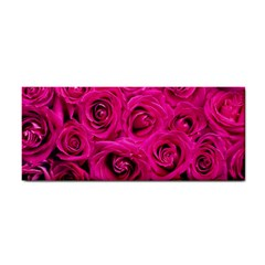 Pink Roses Roses Background Cosmetic Storage Cases