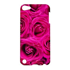 Pink Roses Roses Background Apple iPod Touch 5 Hardshell Case
