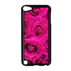 Pink Roses Roses Background Apple iPod Touch 5 Case (Black)