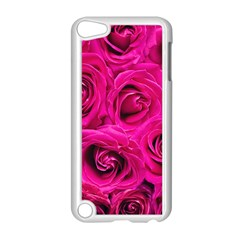Pink Roses Roses Background Apple Ipod Touch 5 Case (white)