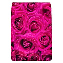 Pink Roses Roses Background Flap Covers (l)