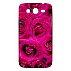 Pink Roses Roses Background Samsung Galaxy Mega 5 8 I9152 Hardshell Case